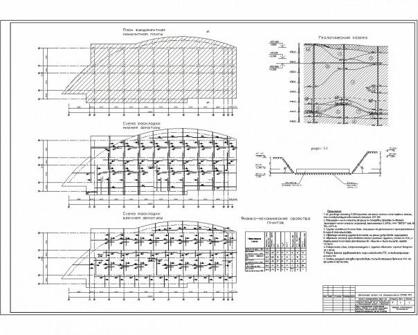 Готовые дипломные проекты ПГС Промышленное гражданское  графическая часть