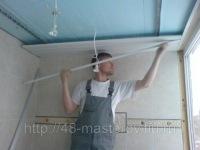 Нами произведено утепление всей площади лоджии по стенам и потолку с последующим монтажом алюминиевого реечного...