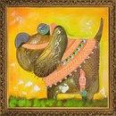 Stitch.kh.ua Вышивка бисером Наборы Новая Слобода PRECIOSA(Чехия) Животный мир - Санчо Панса.
