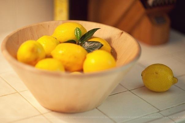 лимонные свечи