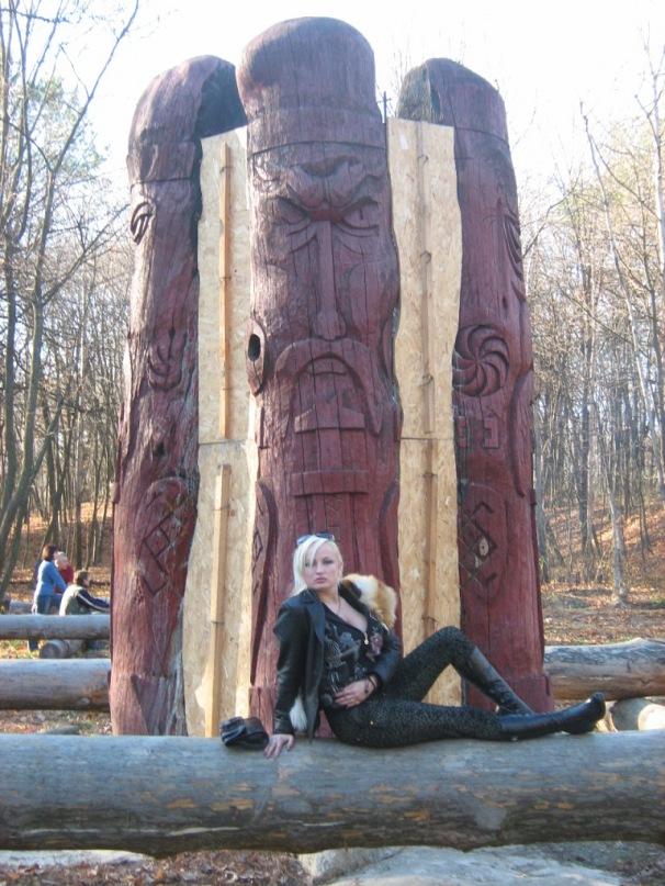 Мои путешествия. Елена Руденко. Киев. Лысая гора. 2010 г. Y_2f4fbf62