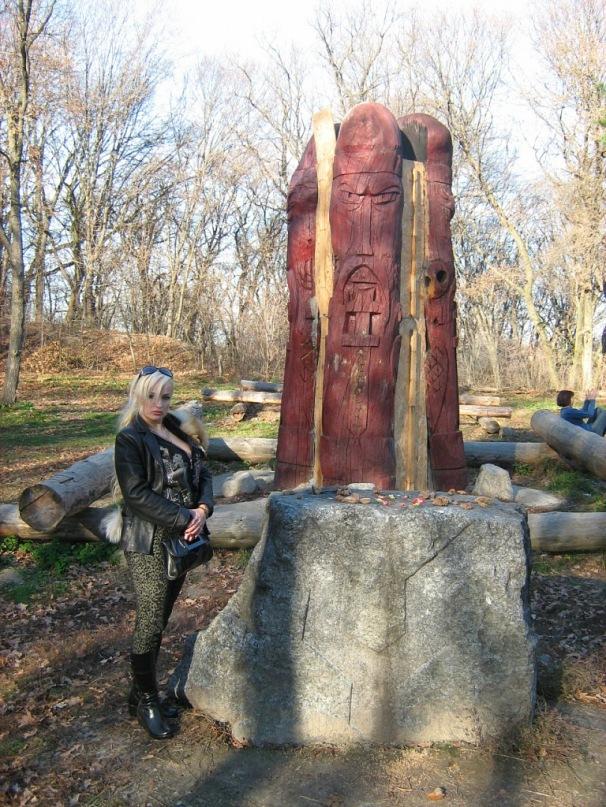 Мои путешествия. Елена Руденко. Киев. Лысая гора. 2010 г. Y_536fd745