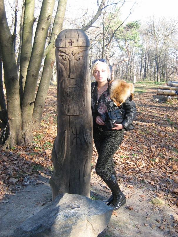 Мои путешествия. Елена Руденко. Киев. Лысая гора. 2010 г. Y_d8524178