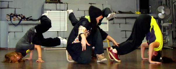 занятия танцами хип-хоп в Школе танцев Vesta Club