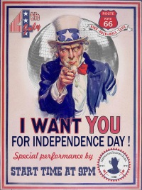 4th July - INDEPENDENCE DAY OF THE USA