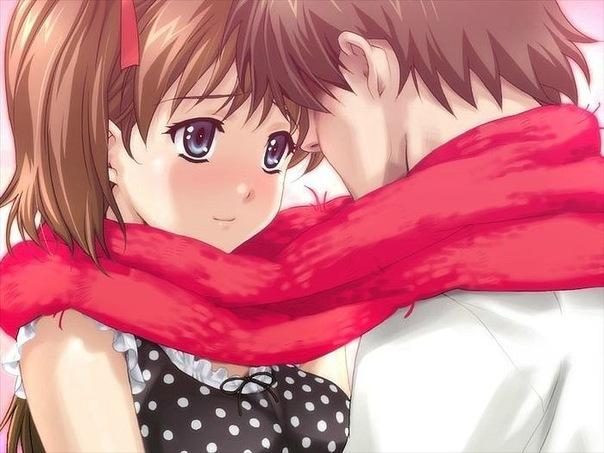 влюбленная девушка аниме: