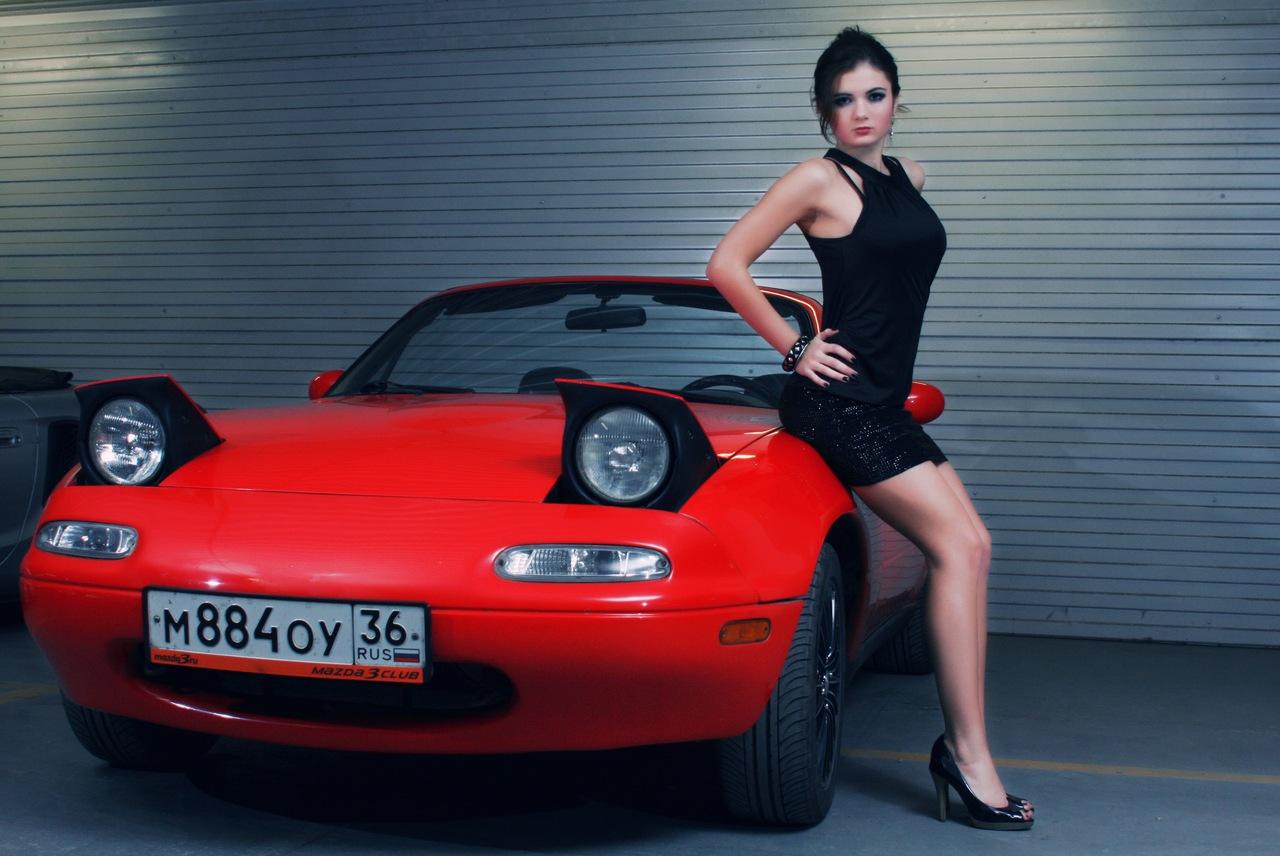 Фото русские девушки и их автомобили