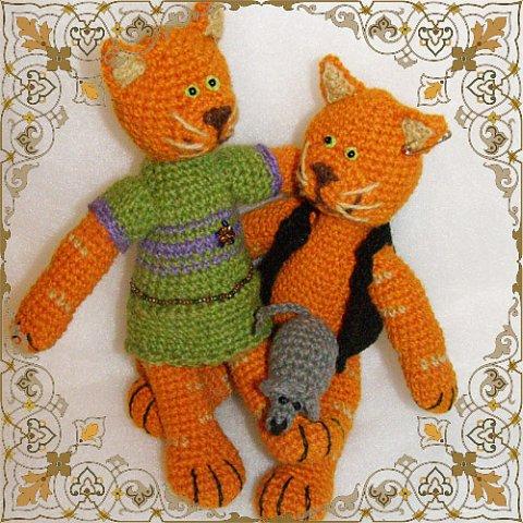 Игрушки и сувениры связанные крючком, подробные схемы для вязания.