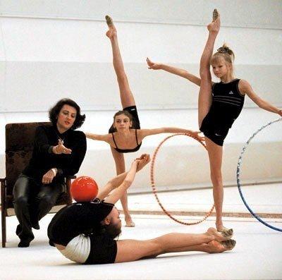 Ирина Винер, художественная гимнастика, сборная России
