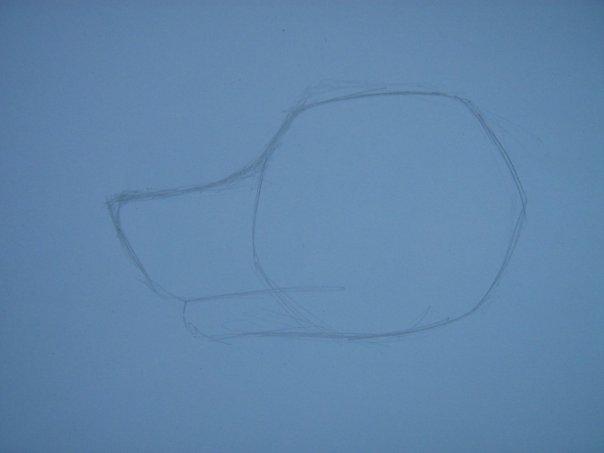 Урок: Рисуем волка. Секрет рисования шерсти.Простенький урок X_e57d4daa