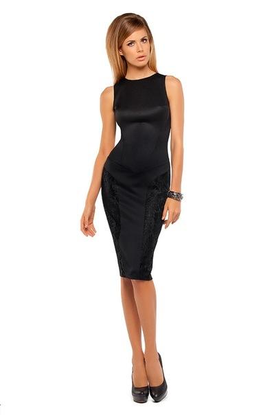 Коктейльное платье-футляр из коллекции осень-зима 2010/2011 Lena Noles.