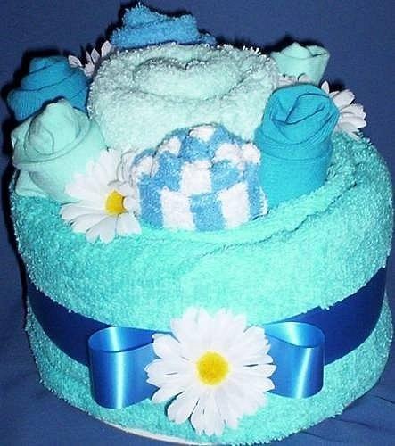 Торт из полотенца пошагово