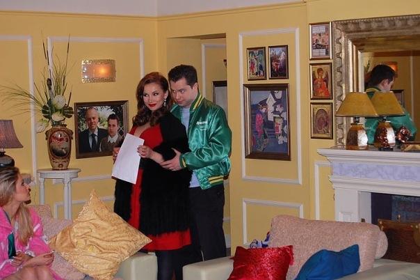 арарат кещян и его жена: