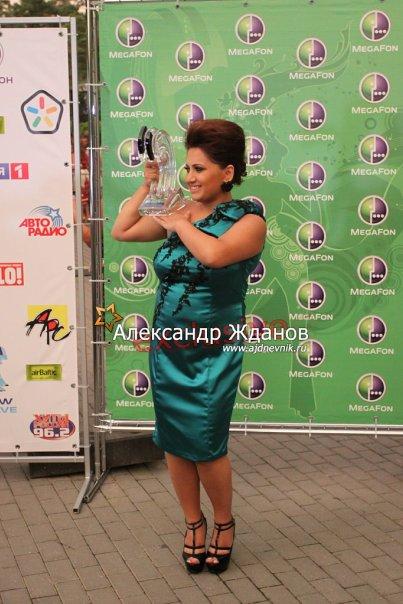 Победитель Новой Волны2010 - певица из Армении Sona