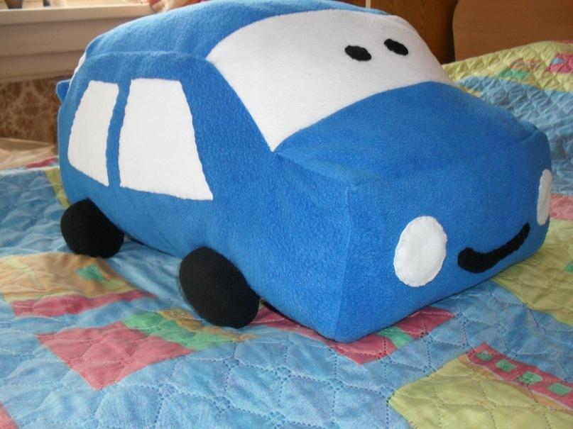 Подушка своими руками в машину