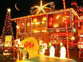 Рождество, жёлтое, Зимнее, золотистое, Новый год, праздники 1152х864
