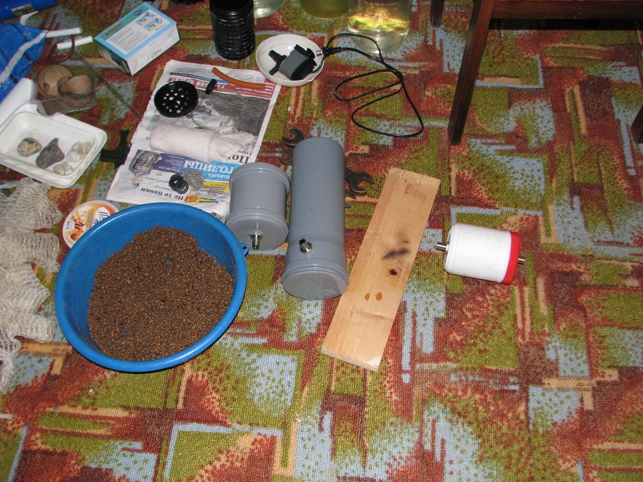 Изготовление внешнего фильтра для аквариума своими руками