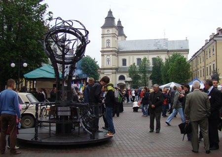 4-6 травня м. Івано-Франківськ, майдан Шептицького