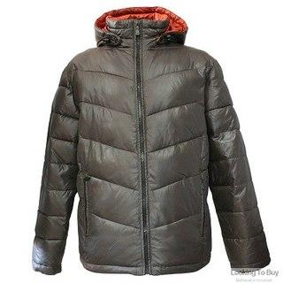 Куртка зимняя VG-3008 хаки/кирпич.  Мужская одежда.