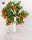 Мастер-класс по бисероплетению: Дерево из бисера - Апельсин.