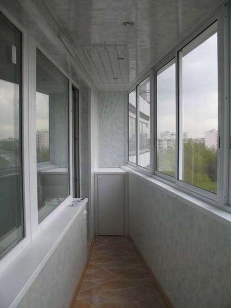 Пластиковая обшивка балкон, лоджии под ключ. остекление квар.