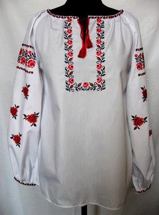 сорочка для вышивки, Льняная рубашка с ...