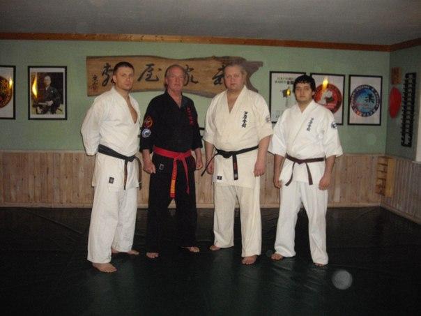 посещение Хонбу - додзё в апреле 2012