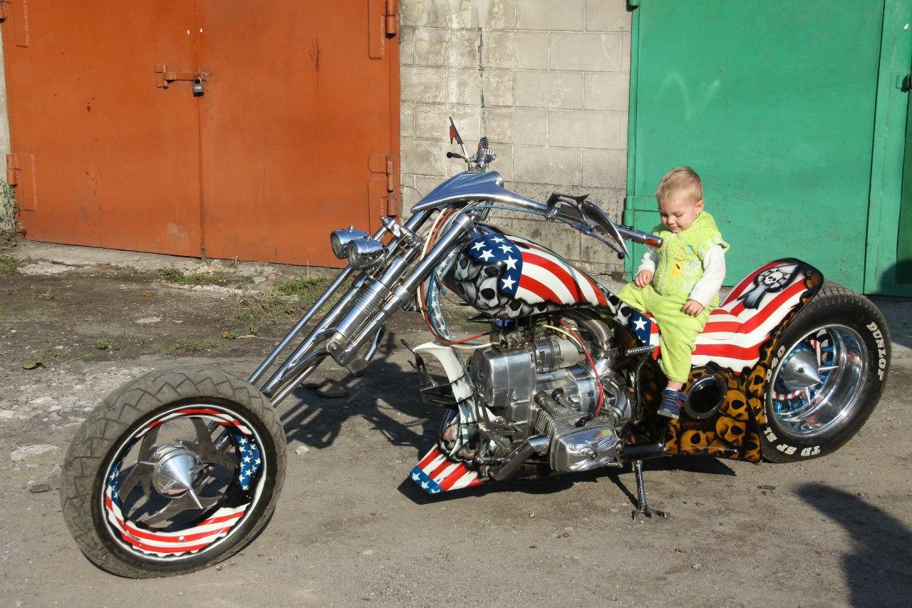 Как оформить мотоцикл собранный своими руками