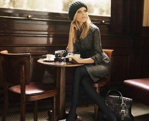 Фото st 189 1 Французский стиль в одежде.