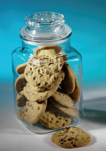 Печенье в банке подарок