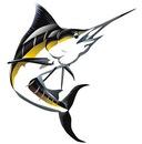 Векторный клипарт : Рыба меч.