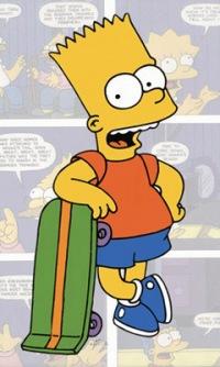 Барт симсон.