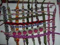 Схема фенечки с именем алина - Делаем фенечки своими руками.
