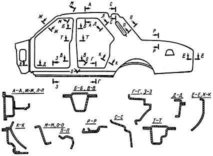 Схема машины аппарата контактной сварки.
