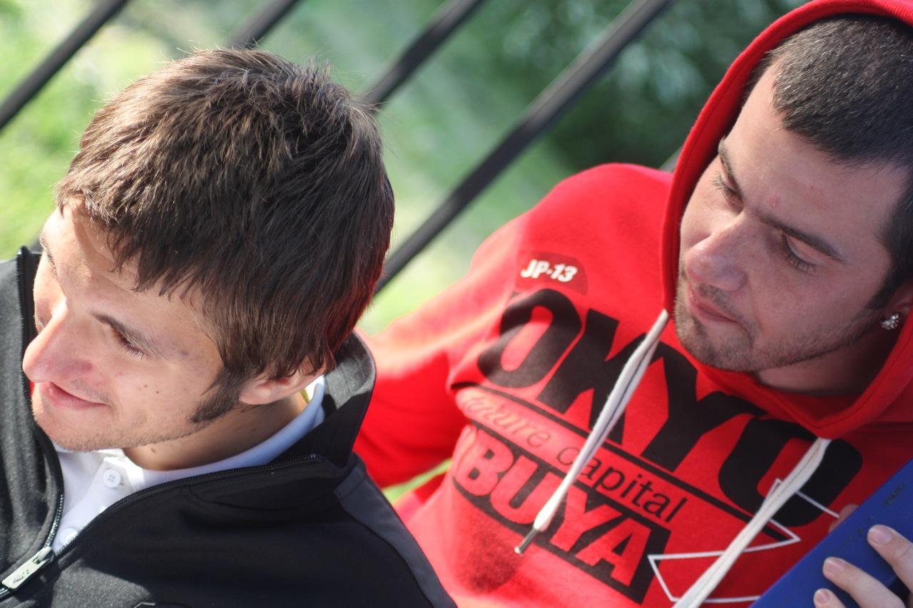 Ярослав Кяйвяряйнен и Павел Алексеев на Оккервиль Арене, сезон 2011