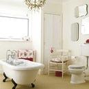 На последок хочу показать несколько ванных комнат в таком же стиле.
