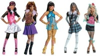 More Picture For monster high clawdeen wolf girls costume.