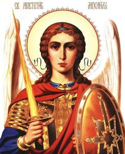 Святой Архангел Михаил явил свою силу, когда он чудесно спас отрока, брошенного грабителям в море с камнем на шее у...