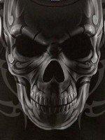скачать тему Skull animated.