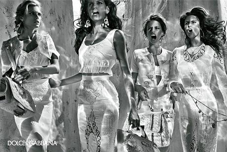 Рекламная кампания Dolce & Gabbana весна-лето 2011.