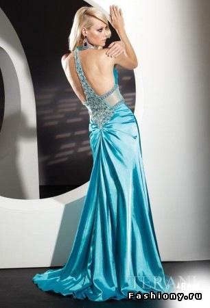 Длинные платья с открытой спиной - это всегда роскошно, внем Вы...