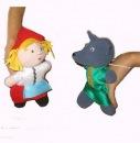 Продам кукол-бибабо (перчаточные) и шагающих для домашнего кукольного...