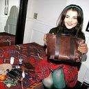 Лена Ленская с сумкой.  Ирена Понарошку с сумкой.  Ольга Родионова.