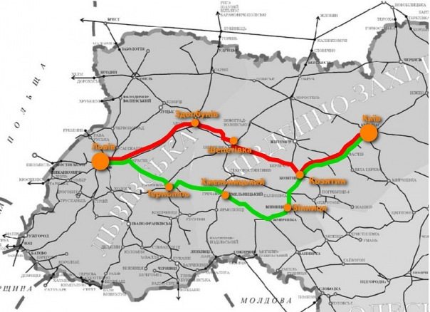 Швидкісний потяг до Євро 2012