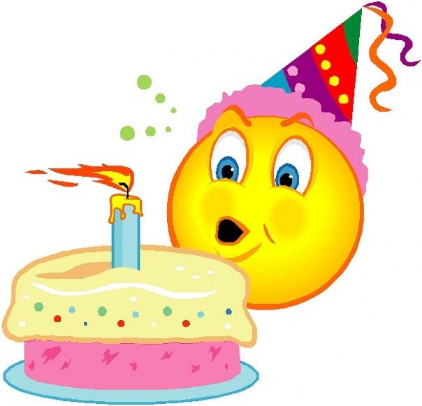 Поздравления со смайликами с днем рождения