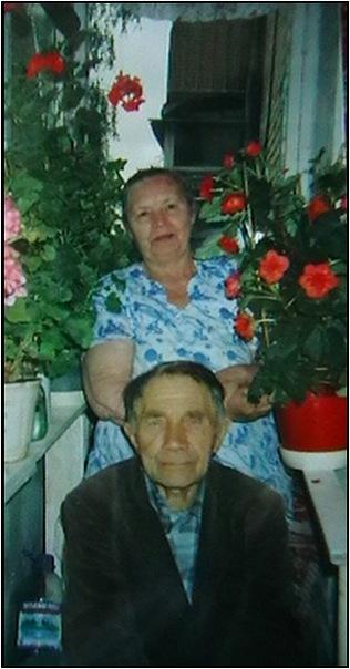 Надежда Егоровна со своим мужем известным благовестником Иваном Федоровичем Шулико