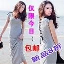 платье трикотаж, цвет серый и черный<br>http://item.taobao.com/item.htm?id=14097950968<br>¥49<br>Все товары в данном альбоме находятся в Китае.<br>Цены указаны в Юанях, 1юань = 5р.<br>Ориентировочный срок доставки 1 месяц.