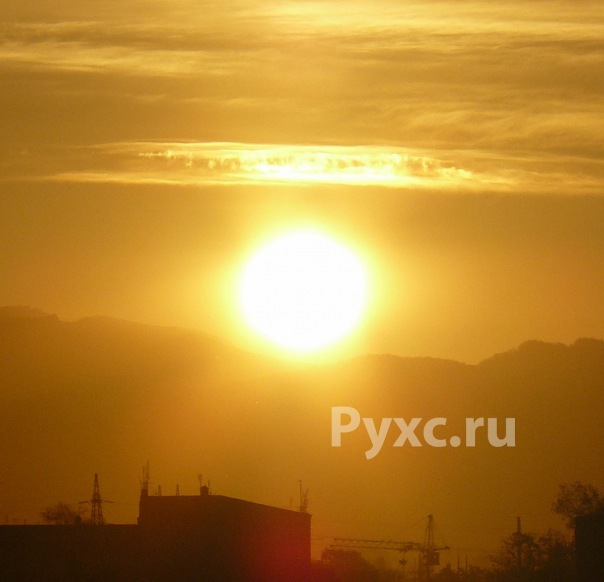 Рассвет в 7.45