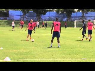 Pre-Season tour day 4: Training in Bangkok