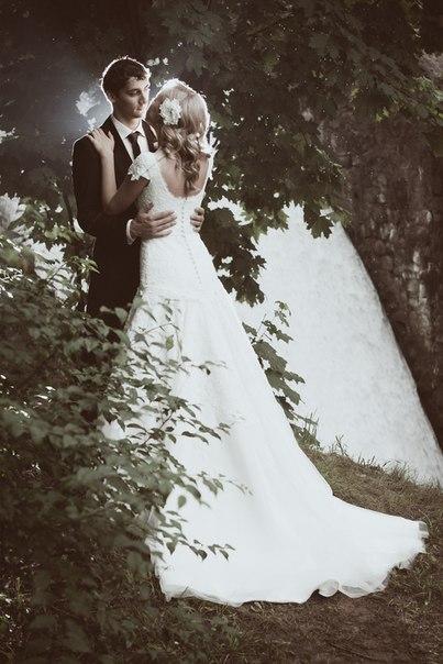 Светлана и Никита. платье 5754 из коллекции Fara Sposa. фотограф Антон Бут